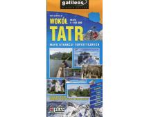 Wokół Tatr mapa atrakcji turystycznych 1:100 000