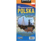 Polska mapa samochodowo-krajoznawcza 1:650 000