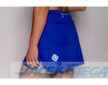Spódniczka damska do biegania Irena niebieska